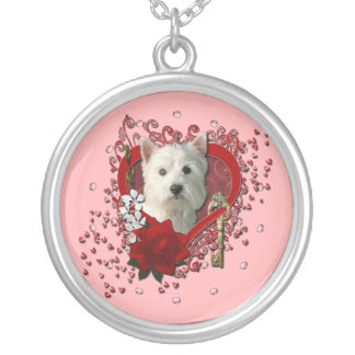 Valentines - Key to My Heart West Highland Terrier Jewelry