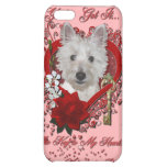 Valentines - Key to My Heart - Westie - Tank iPhone 5C Covers