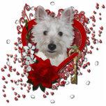 Valentines - Key to My Heart - Westie - Tank Photo Cutouts