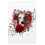 Valentines - Key to My Heart - Whippet Magnets