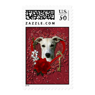Valentines - Key to My Heart - Whippet Postage
