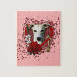 Valentines - Key to My Heart - Whippet Jigsaw Puzzles