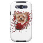 Valentines - Key to My Heart - Yorkshire Terrier Samsung Galaxy SIII Case