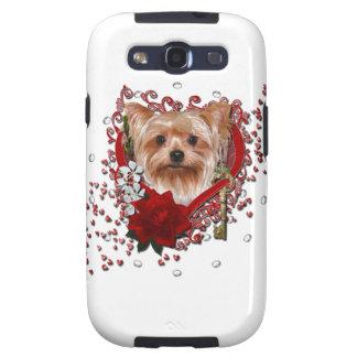 Valentines - Key to My Heart - Yorkshire Terrier Samsung Galaxy SIII Case