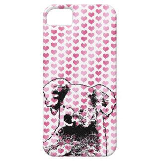 Valentines - Koala Bear Silhouette iPhone 5/5S Cases