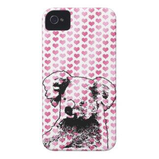 Valentines - Koala Bear Silhouette Blackberry Cases