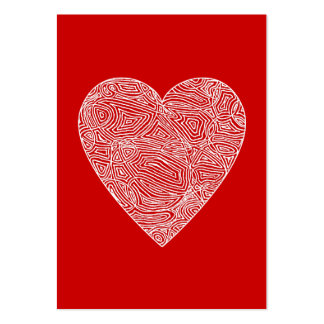Valentines Large Business Card