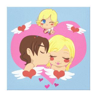 Valentine's Love Canvas Print