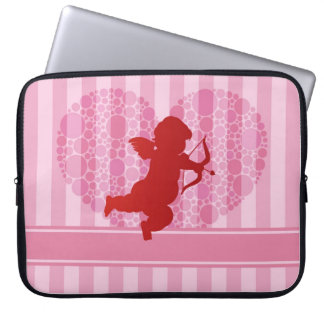 Valentine's Love Cupid Laptop Sleeve