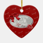 Valentine's - Love For Always Christmas Tree Ornament