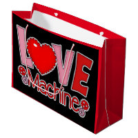 Valentines Love Machine large gift bag