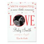 Valentine's Love Pregnancy Ultrasound Announcement