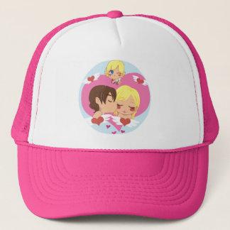 Valentine's Love Trucker Hat