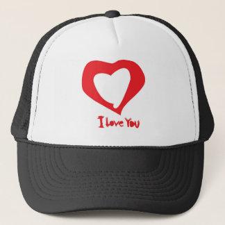 valentines love trucker hat