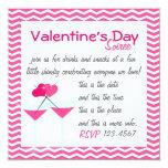 Valentine's Martinis- the Valentinis! Card