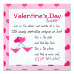 Valentine's Martinis- the Valentinis! Invitation