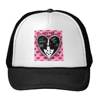 Valentines Mesh Hats