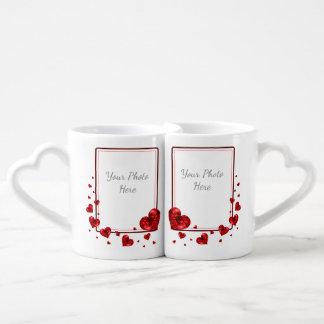 Valentine's Mugs Set