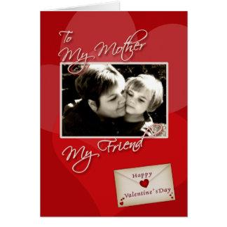 Valentine's - My mother - custom photo card