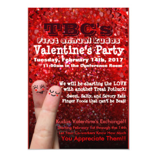 Valentine's Party Flyer Card