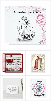 Valentine's Party Invitations and Cards