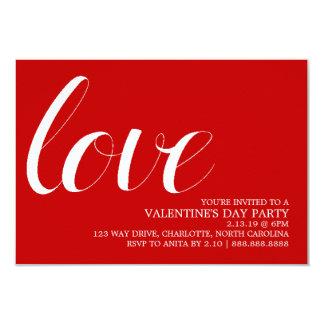 Valentine's Party Invite | Mod Pen Love