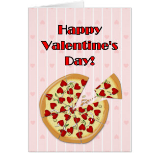 Valentineu0026#39;s Pizza Card