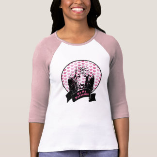 Valentines - Poodle Silhouette T-Shirt