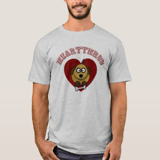 Valentines Puppy Love - I Wuff You T-Shirt