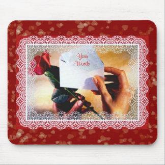 Valentine's Rose Mousepad