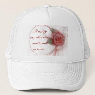 VALENTINE'S ROSE TRUCKER HAT
