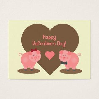 Valentine's - Set of 100 Pig Cards