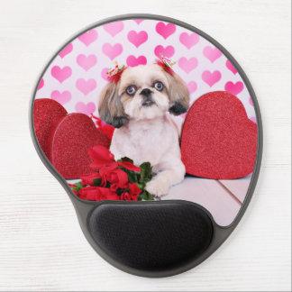 Valentines - Shih Tzu - Sophie Gel Mouse Mat