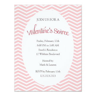 Valentine's Soiree Party Card