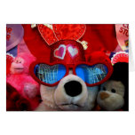 Valentines Stuffed Animals Greeting Cards