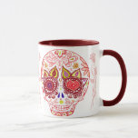 Valentines Sugar Skull Love Mug
