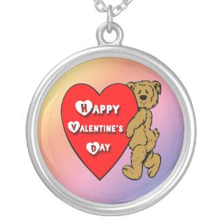 Valentine's Teddy Bear Necklace