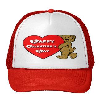Valentine's Teddy Bear Trucker Hat