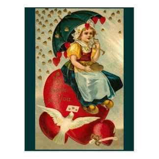 Valentine's Vintage Postcard