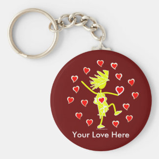 Valentines Well Loved Keychain