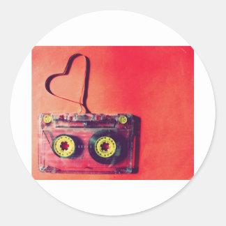 valentinesday classic round sticker