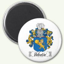Valentini Family Crest Magnet