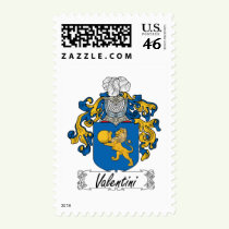 Valentini Family Crest Stamps