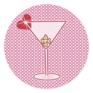Valentini Valentine Martini Stickers sticker