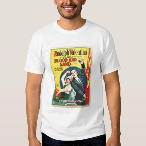 Valentino Blood and Sand 1922 movie poster T-shirts