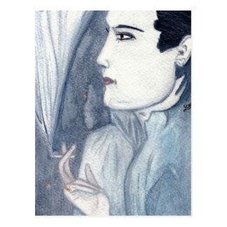 Valentino Postcard