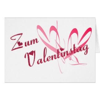 Valentinskarte Card