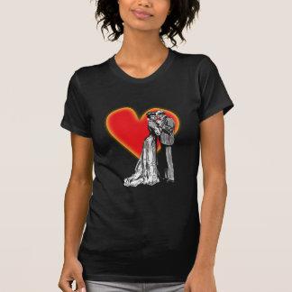 Valentinstag pareja amor couple love valentine camiseta