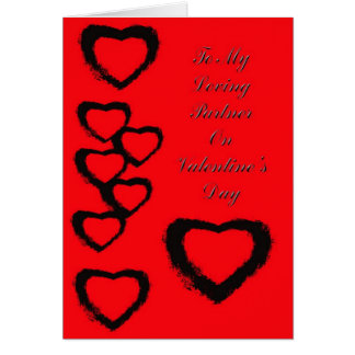 Valentne's Card For Partner