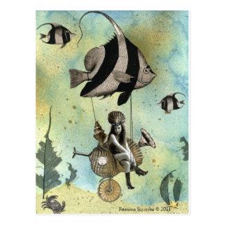 Valenzia y su corredor del Angelfish Tarjeta Postal